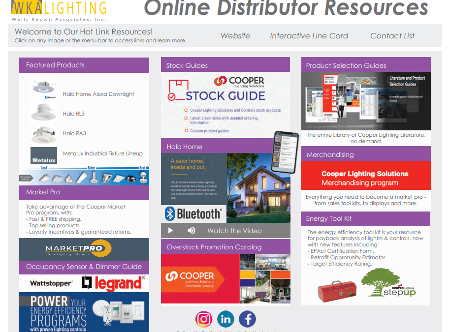 WKA Distributor Resources